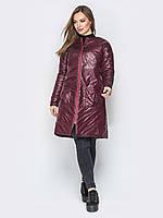Красивая  женская демисезонная демисезонная куртка play S 44 борбовый s19APw70_30