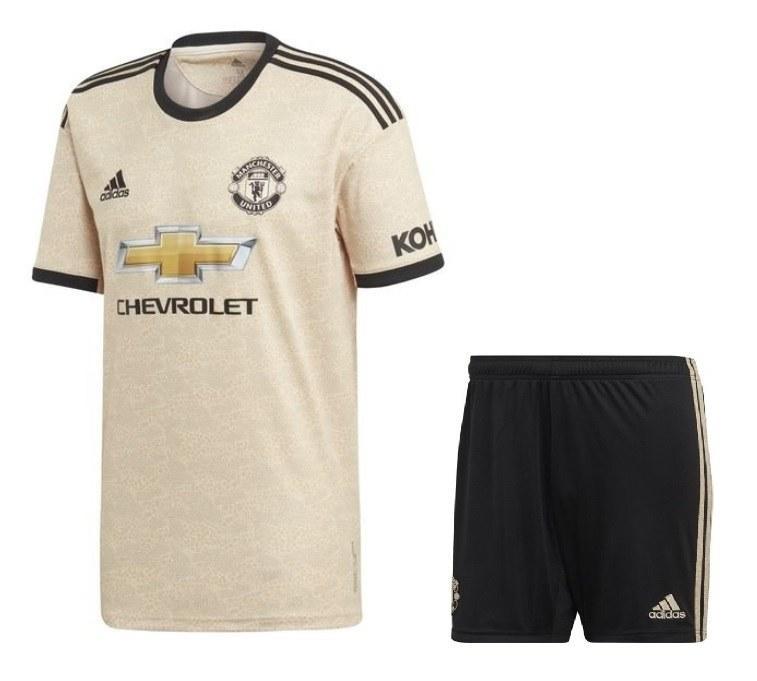 Футбольная форма Манчестер Юнайтед (Manchester United), выездная сезон 19/20