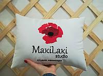 Подушка с вышивкой вашего логотипа, фото 6