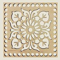 Квадратное донышко для вязанных корзин Shasheltoys (100402.30) 300х300 мм