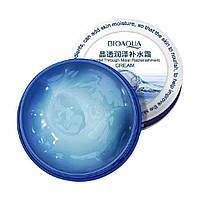Увлажняющий крем-гель для лица с гиалуроновой кислотой BIOAQUA Crystal Through Moist Replenishment Cream, фото 1