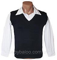 Жилетки и рубашки: одежда для маленьких джентельменов