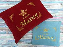 Подушка с вышивкой вашего логотипа, фото 8