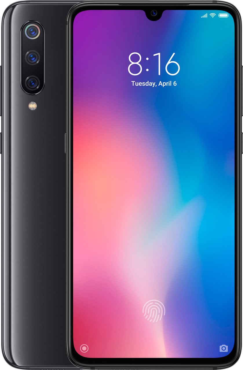 Смартфон Xiaomi Mi 9 6/128gb Black