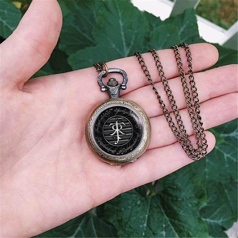 Карманные часы с символом Толкина Властелин колец / The Lord of the Rings