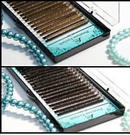Ресницы коричневые Lex Dr.Choko отдельные длины
