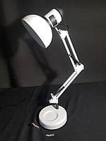 Настільна лампа біла, фото 1