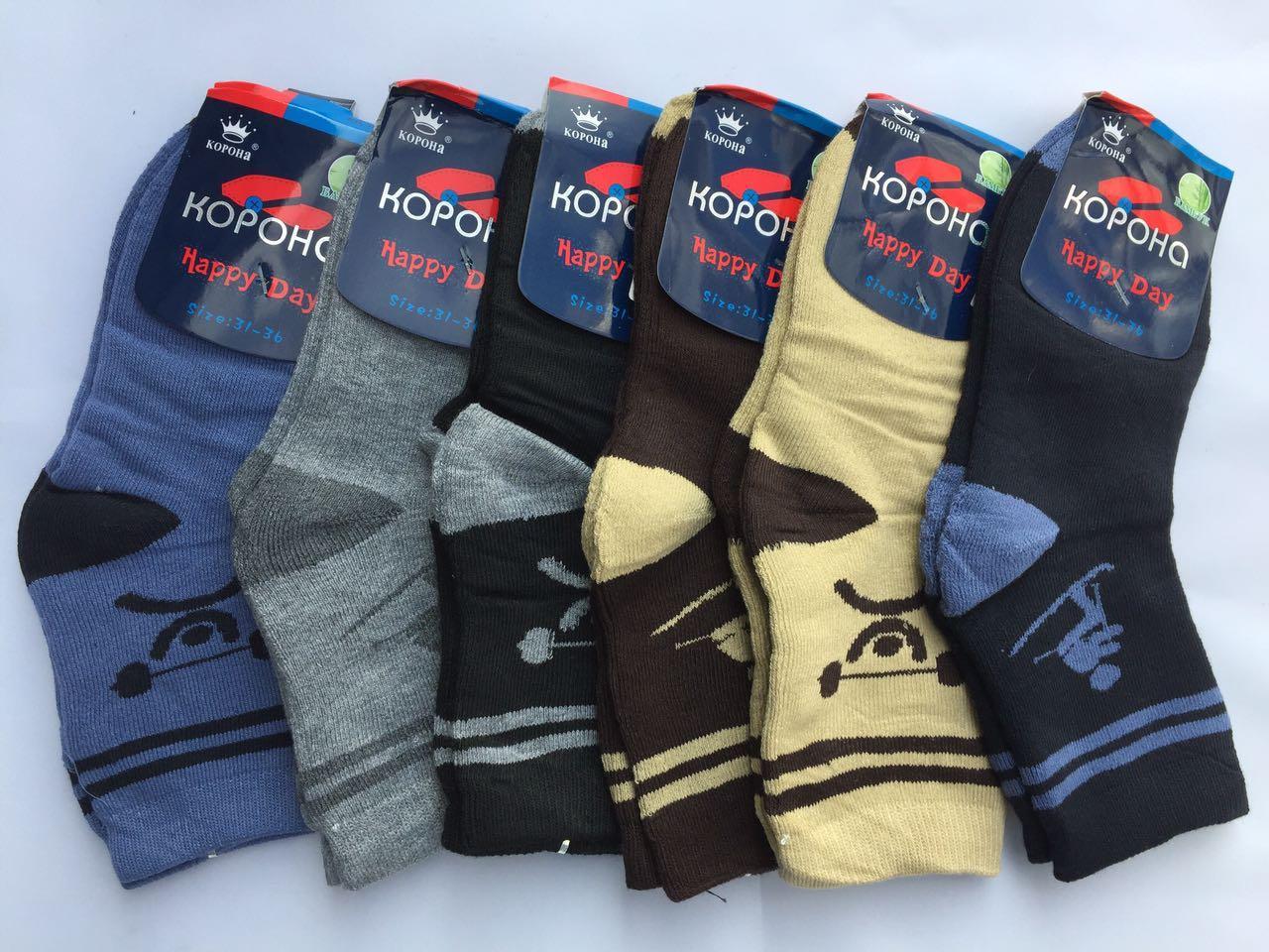 Детские махровые носки Корона Р.р 31-36 L