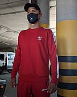 Олимпийка в стиле Adidas красная, фото 1