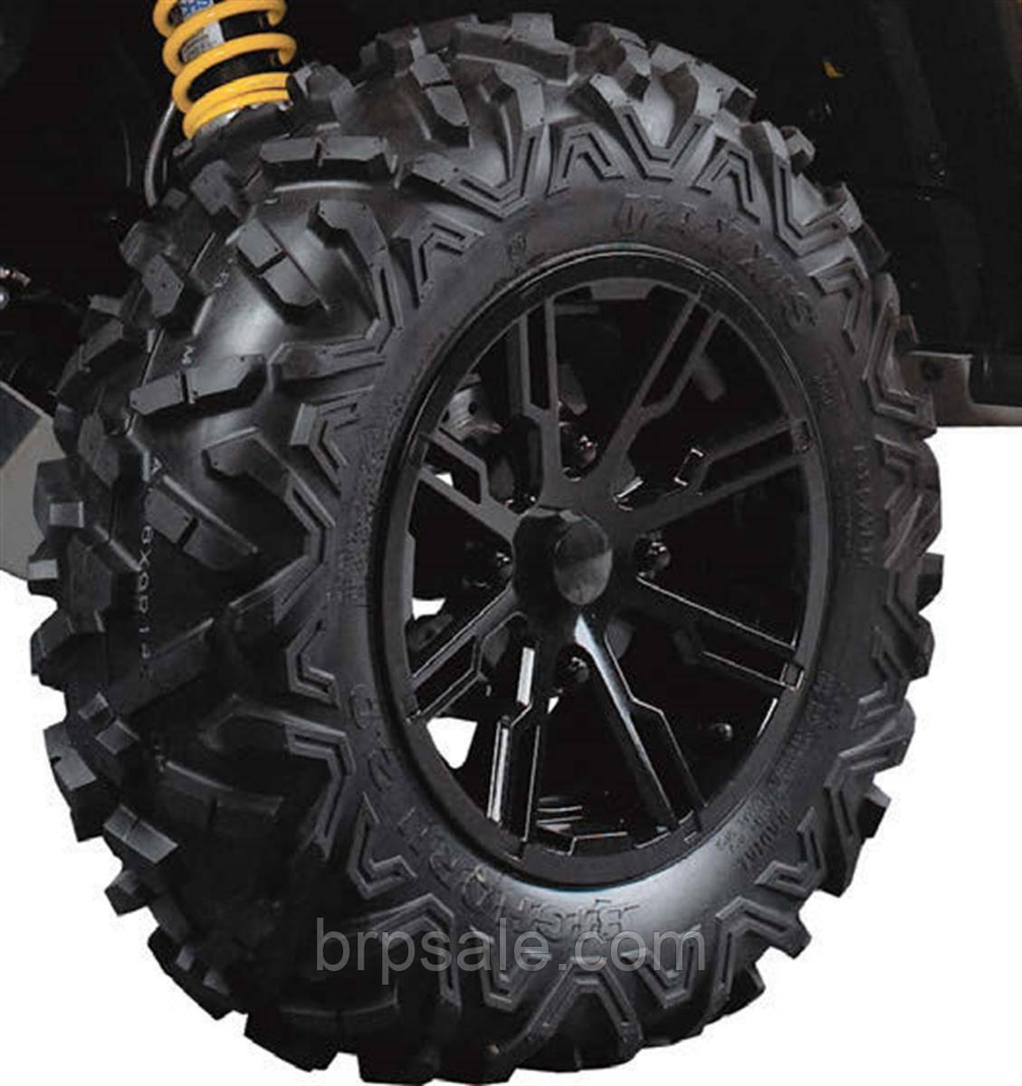 """Передний задний обод шин 14"""" X 7 """" черный Can-Am BRP Rear rim"""