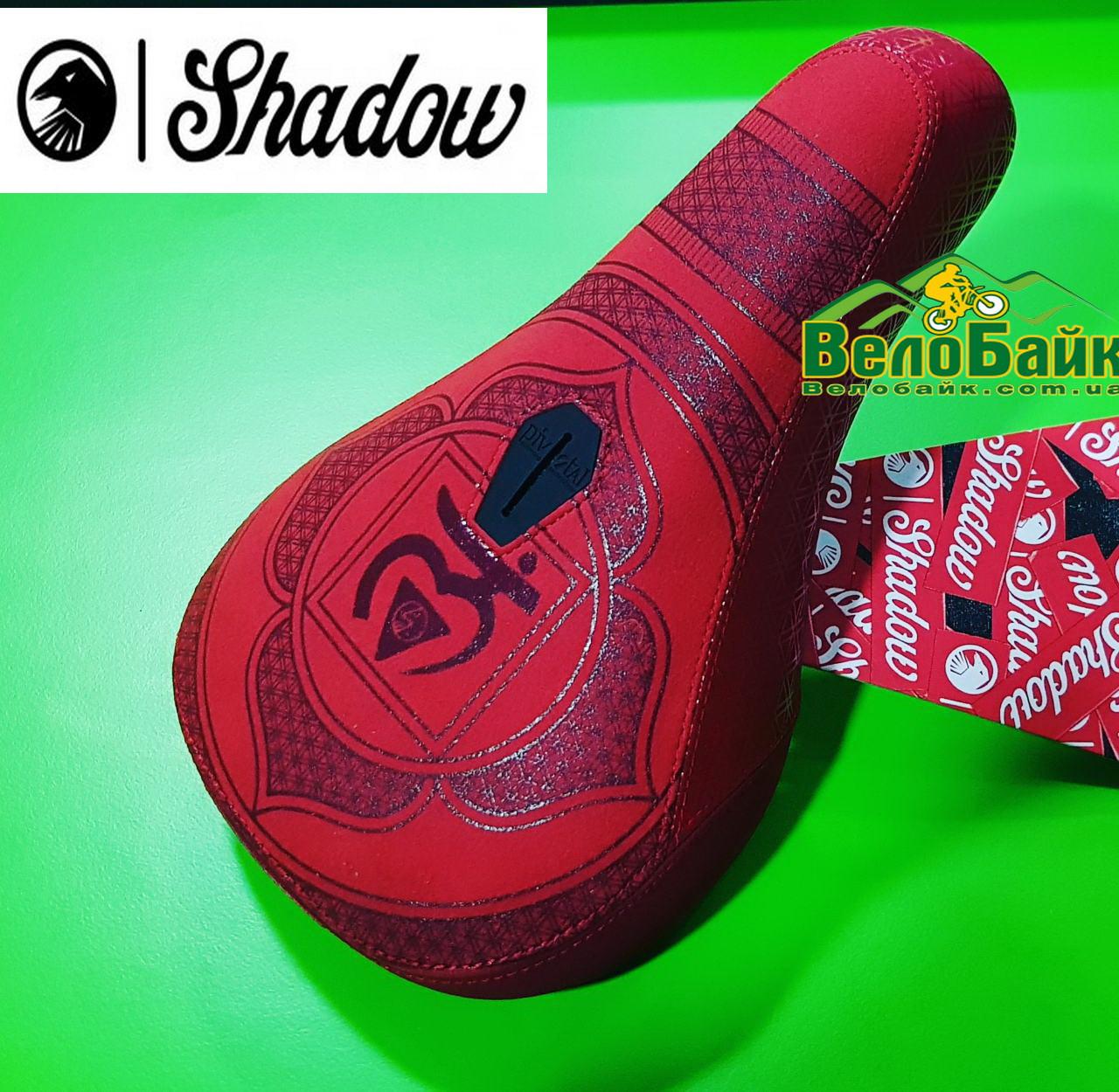 Седло SHADOW TSC Penumbra Pivotal Mid seat Coulomb Series 6 красное