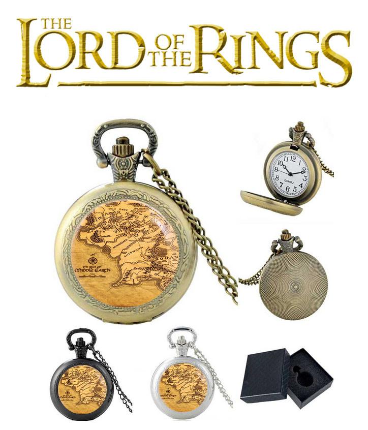 Карманные часы карта Властелин колец / The Lord of the Rings