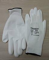 Рабочие перчатки полиэстеровые с полиуретановым покрытием