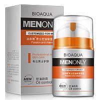 Мужской крем для жирной кожи BIOAQUA Men Only Oil Control Cream