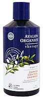 Шампунь с аргановым маслом для поврежденных волос, 414мл, Avalon Organics
