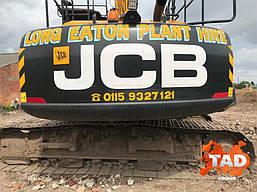Гусеничний екскаватор JCB JS220LC (2017 м), фото 3