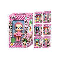 Кукла L.O.L в большой упаковке (Старшая сестра 15см и два пупса девочки ), фото 1