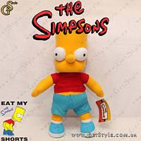 """Плюшевая игрушка Барт Симпсон - """"Bart Toy"""" - 35 см"""