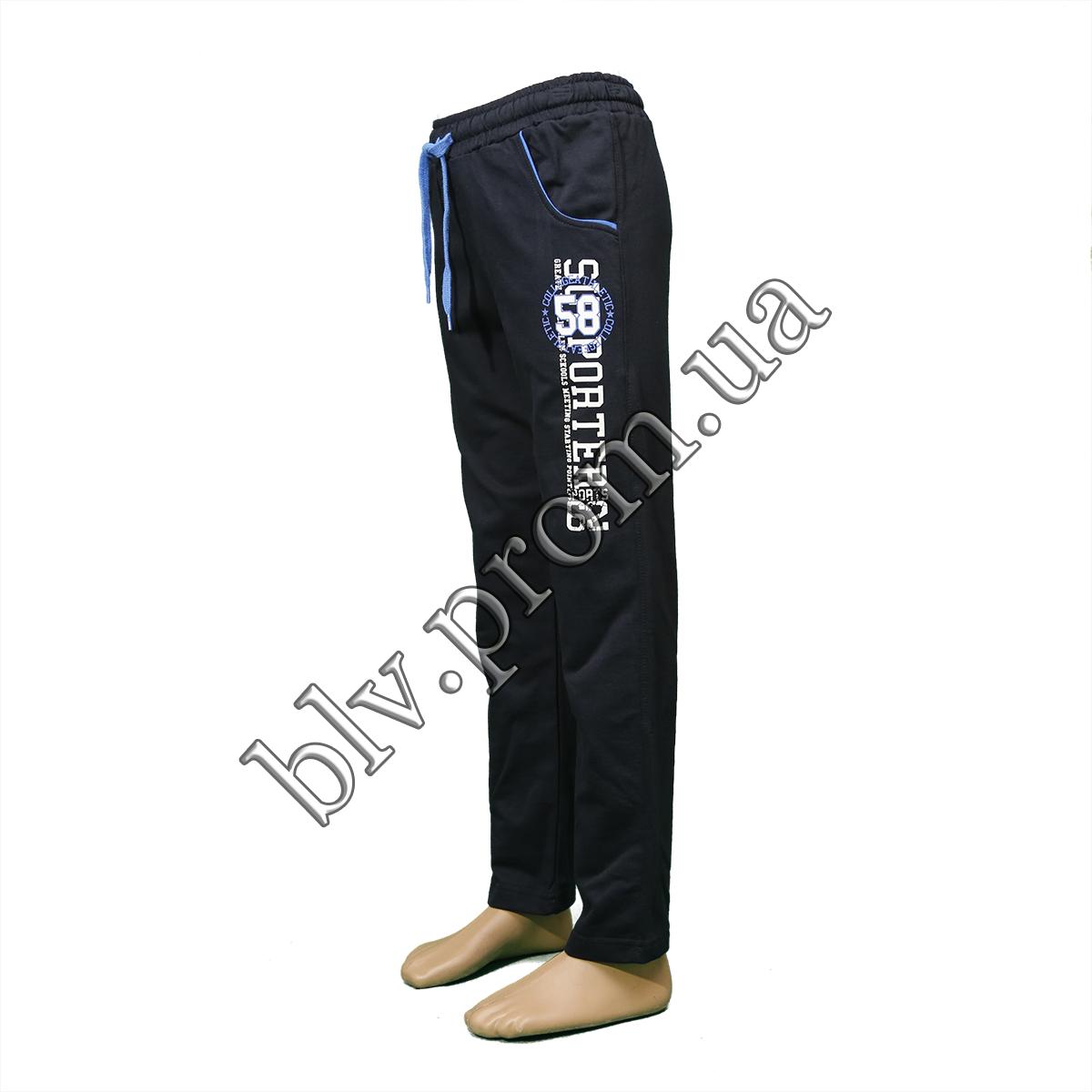 Подростковые трикотажные брюки пр-во Турция 4210