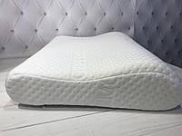 Ортопедическая подушка Memory волна 40х60х10/8см
