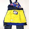 Детский демисезонный комбинезон куртка и штаны для мальчика синий 2-3 года, фото 5