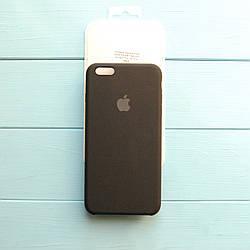 Накладка оригинальная Apple Silicone Case для iPhone 6 Plus, 6S Plus Black