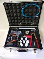 Комплект инструмента и материалов для ремонта сколов и трещин автостекол