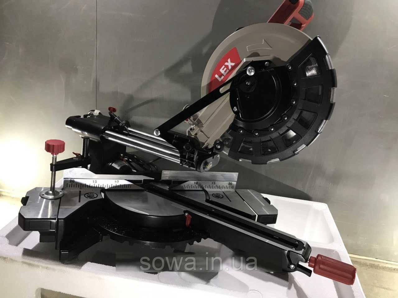 Пила торцовочная с протяжкой LEX LXCM250