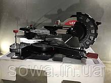 Пила торцовочная с протяжкой LEX LXCM250, фото 3