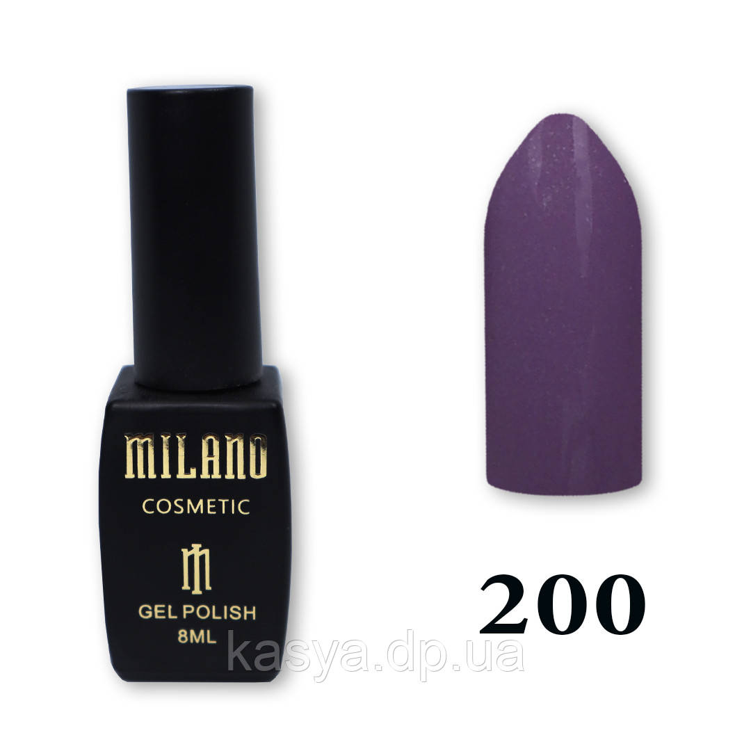 Гель-лак MILANO №200, 8 мл