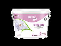 Интерьерная краска Эконом класса для потолков и стен по кирпичу и бетону White Orchid 1 л