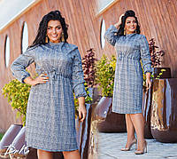 Женское модное платье  ДГак0483 (бат), фото 1