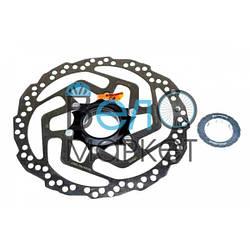 Гальмівний диск / ротор Shimano SM-RT10 CENTER LOCK 160мм супорт