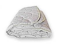 Одеяло двуспальное QSLEEP полушерсть 172*205 см белое