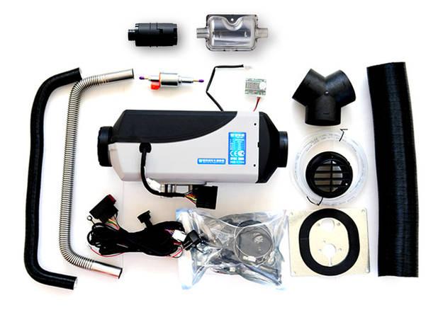 Автомобильный воздушный отопитель салона Лунфэй LF Bros EC5.0,  5кВт,  12V, фото 2