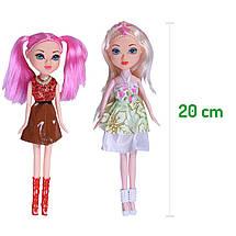 """Деревянный кукольный домик для Барби EcoToys """"Малиновая резиденция"""" с лифтом, фото 3"""