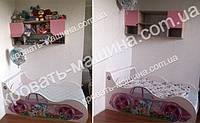 Кровать машина Мой Маленький Пони сакура