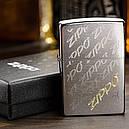 Зажигалка Zippo Engraved Zippos, 28642, фото 3