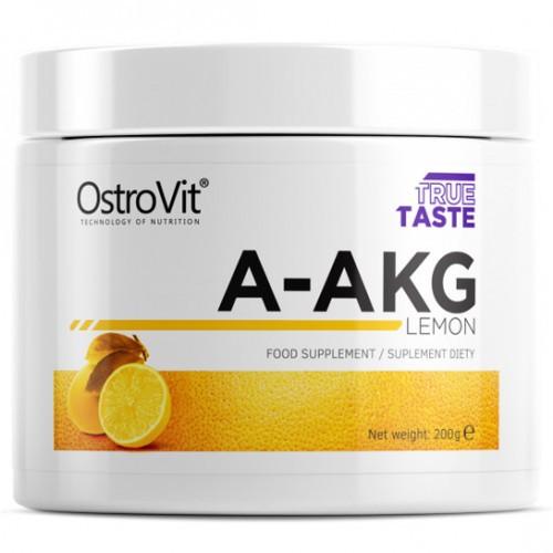Амінокислоти OstroVit A-AKG 200 г лимон