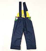 Детский демисезонный комбинезон куртка и штаны для мальчика зелёный 1-2 года, фото 3