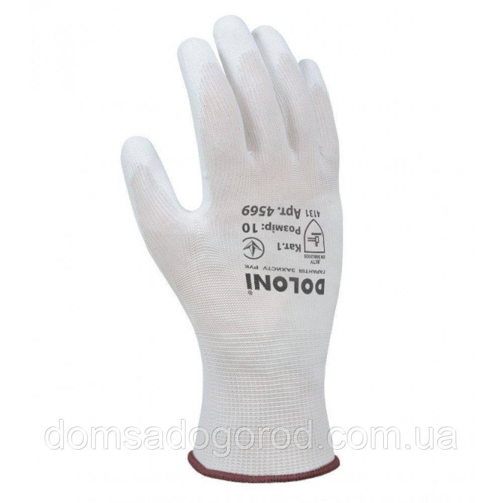 Перчатки DOLONI женские  р.9  (белые)арт.620