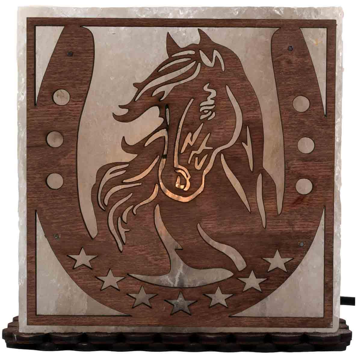 Соляна лампа Кінь, 3-4 кг