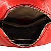 Женская кожаная сумка de esse красная, фото 4