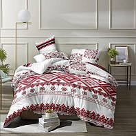 Комплект постельного белья ранфорс полуторный Вышиванка