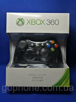 Беспроводной геймпад Xbox 360 Wireless Controller Black, фото 2