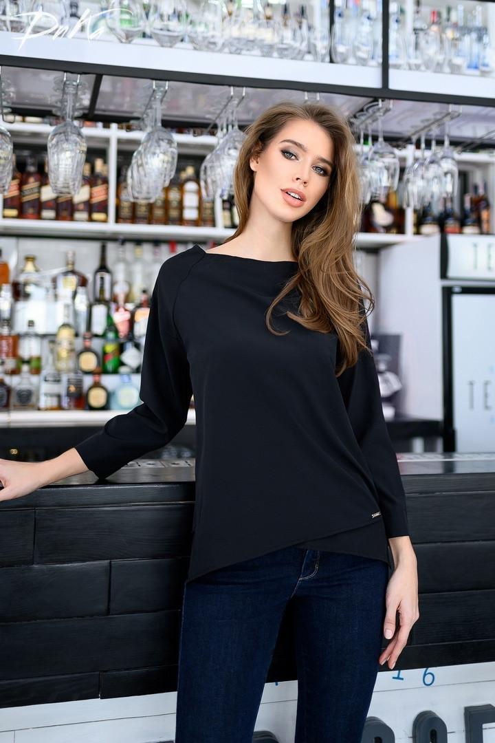 Женская модная блузка  ДГр15156 (норма)