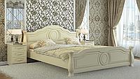Кровать Анна 120х190, Беж