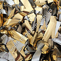 Конфетти золото стандарт 1,5х6