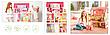 """Деревянный кукольный домик для Барби """"Малибу"""" EcoToys с лифтом, фото 5"""