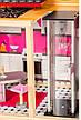"""Деревянный кукольный домик для Барби """"Малибу"""" EcoToys с лифтом, фото 6"""